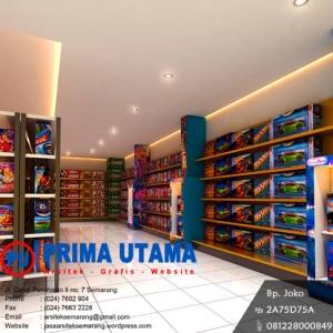 Desain Interior Toko Semarang 2